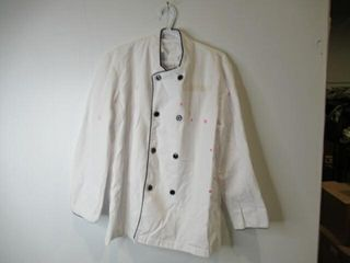 As Is Chefs Smock  Size Medium