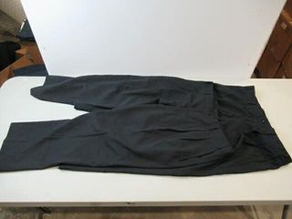 2  Mens Black Flame Resistant Work Pants