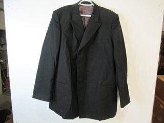 Mens Black Dress Jacket  Size Approx XX large