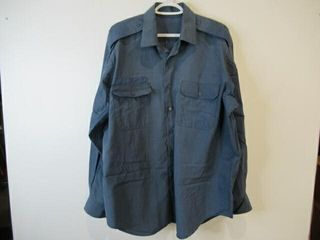 2  As Is Mens Naval Combat Shirts  Size 17 36