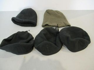 lot of 3 Berets   2 Wool Caps  Size 7 1 4