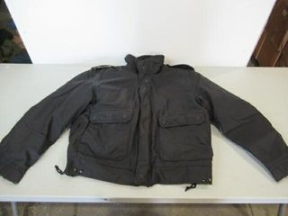 Nlack Military Police Jacket With liner Size large
