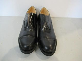 Mens Black Dress Shoes  Size 8 1 2