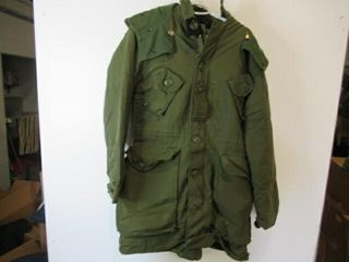 ECW Combat Parka  Size 4 Small Regular
