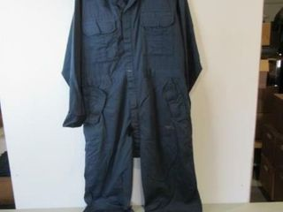 As Is Blue Coveralls  Size Medium Tall