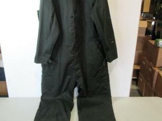 Green Coveralls  Size Hieght 76 79  Chest 41