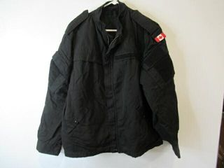 2  Black Military Police Jackets Size Med Regular