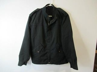 2 Black Military Police Jackets  Size Small Short
