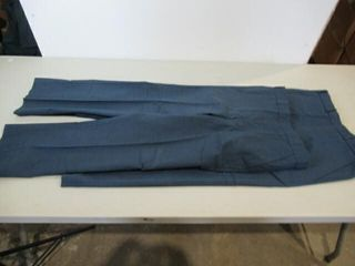 2  Pair MEns Blue Dress Pants Size Small Short