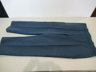 3  Pair Mens Blue Dress Pants Size Short Regular