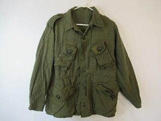 3  As Is OD Green Combat Shirts Size Short Medium