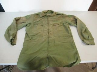 As Is OD Green Flyers Shirt SIze Medium Tall