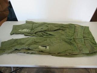 3  Pairs OD Green Flyers Pants SIze Small Short