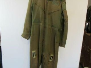 2  As Is OD Green Flyers Coveralls Sz Medium Tall