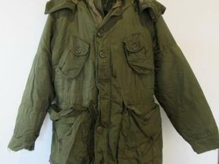 As Is Combat Parka Size 7 long Small