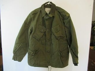 Od Green Combat Jacket Size 2 Short Medium