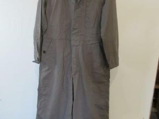 2  Grey Work Coveralls Size Small Short