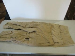 3  As Is Assorted Sizes Tan Flyers Pants