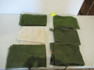 lot of 6 Assorted Mesh laundry Sacks