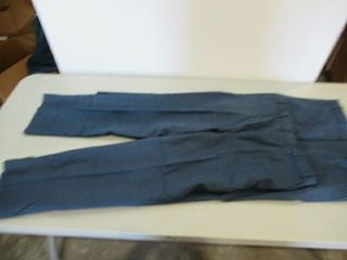 2  Pairs Mens Blue dress Pants Size Small Regular