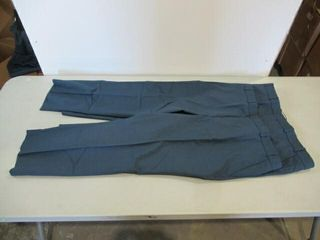 2  Blue Mens Dress Pants Size Medium Short