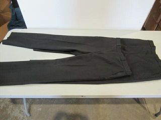 2  Pair Mens Black Dress Pants Size Small Short