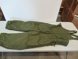 Insulated Combat Overalls Size Small Regular