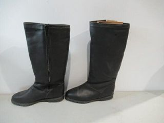 Kaufman Defrosters Black leather Boots Size 7
