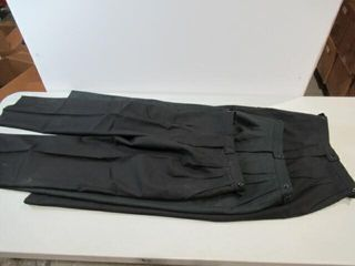 3  Pair Womens Dress Pants  2  Black  1  Green