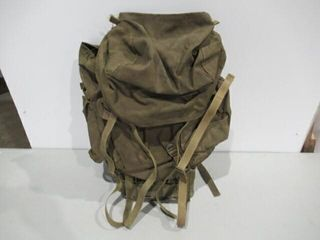 Canadian Military Steel Frame Backpack