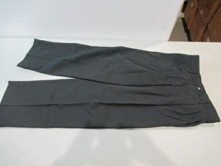 3  Pair Black Naval Work Pants Size Small Short