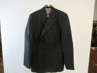 MEns Black Dress Jacket Size large Tall