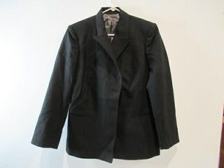 Mens Black Dress Jacket Size Small Short 16R