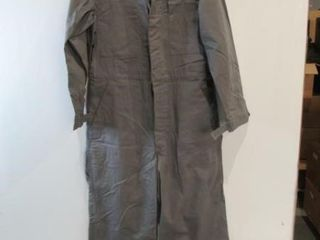 Grey Work Coveralls Size Approx X Small Short