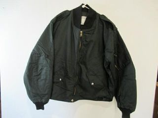 MEns Green Flyers Jacket Size lArge Regular