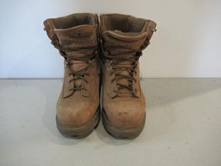 Boulet Brown Suede Combat Boot Hot Weather Sz 81 2