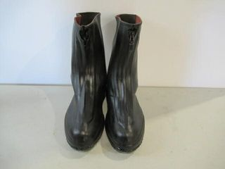 Rubber Dress Overboots Size 9 1 2