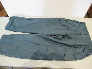 Insulated Blue Work Pants Size Medium Tall