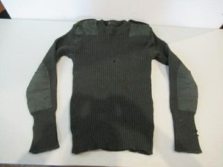 As Is Combat Sweater Size Approx Medium
