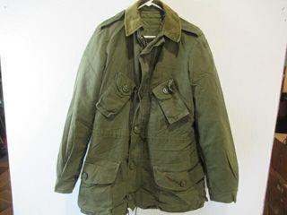 OD Green Combat Jacket Size 7 long Small