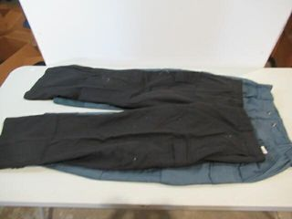 2  As Is Black Naval Combat Pants   Blue