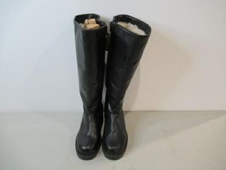 Blondon Regence leather Boots with 100  Virgin