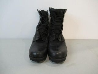 Black Tactical Combat Boots Size 9W