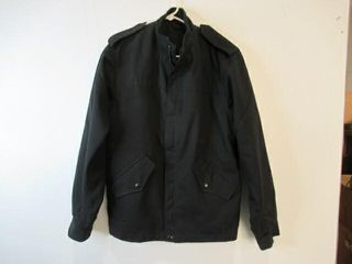 Black Naval Combat Jacket Size Small Short
