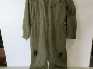 Flyers OD GReen Coveralls Size Medium Regular
