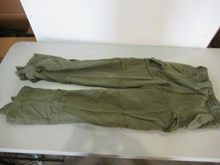 OD Green Combat Pants Size Tall Small