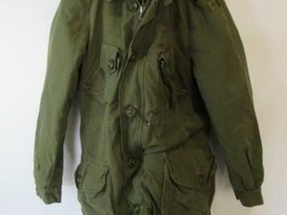 OD Green Combat Jacket with liner Size long Small