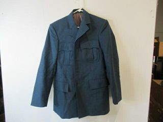 Mens Blue Dress Jacket Size Small Regular