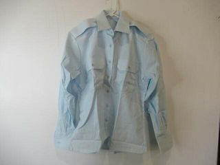 Womens long Sleeve Dress Shirt Size 12 l 32