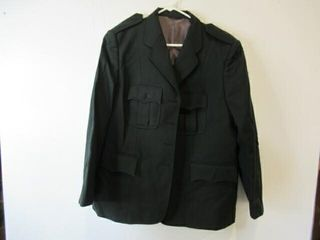 Women Army Dress Jacket Size Medium Regular